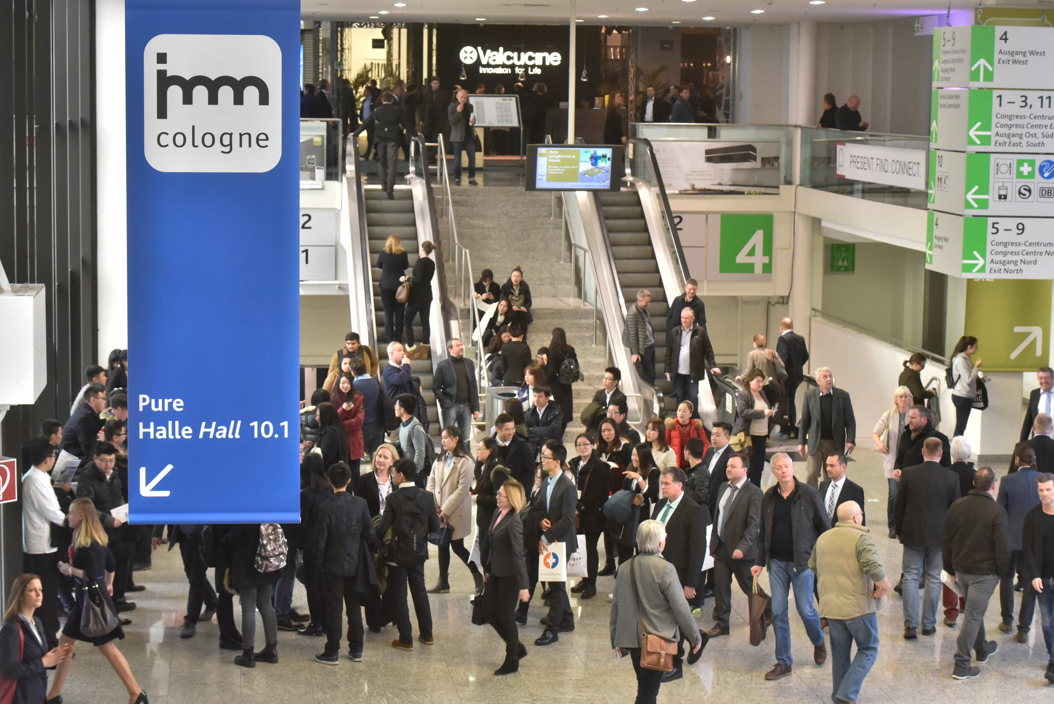 Final report: Trade fair duo of imm cologne and LivingKitchen ...